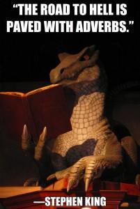 talking flash fiction dragon reading