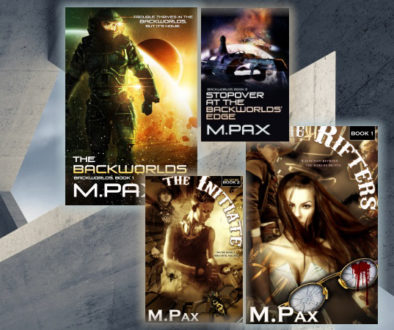 The Tracers: The Rifters Series BK 4 Release Sci-Fi/Fantasy Author M. Pax
