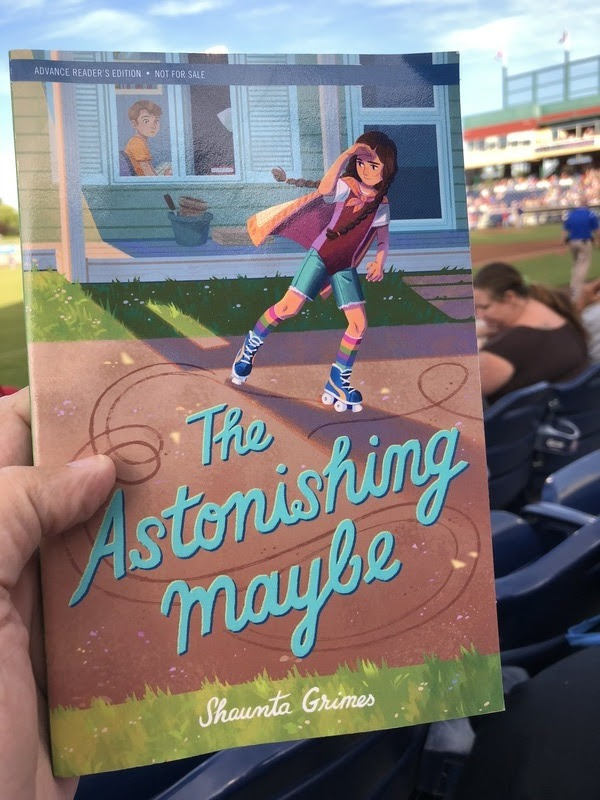 The Astonishing Maybe By Shaunta Grimes (Middle Grade Fiction)