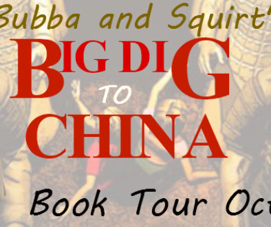 Sherry Ellis Bubba and Squirt's Big Dig to China (+ Giveaway)