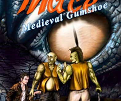 Mace Arthur Medieval Gumshoe Fantasy Adventure by James Husum Interview