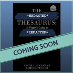 The Emotion Thesaurus: The Big Reveal is here!