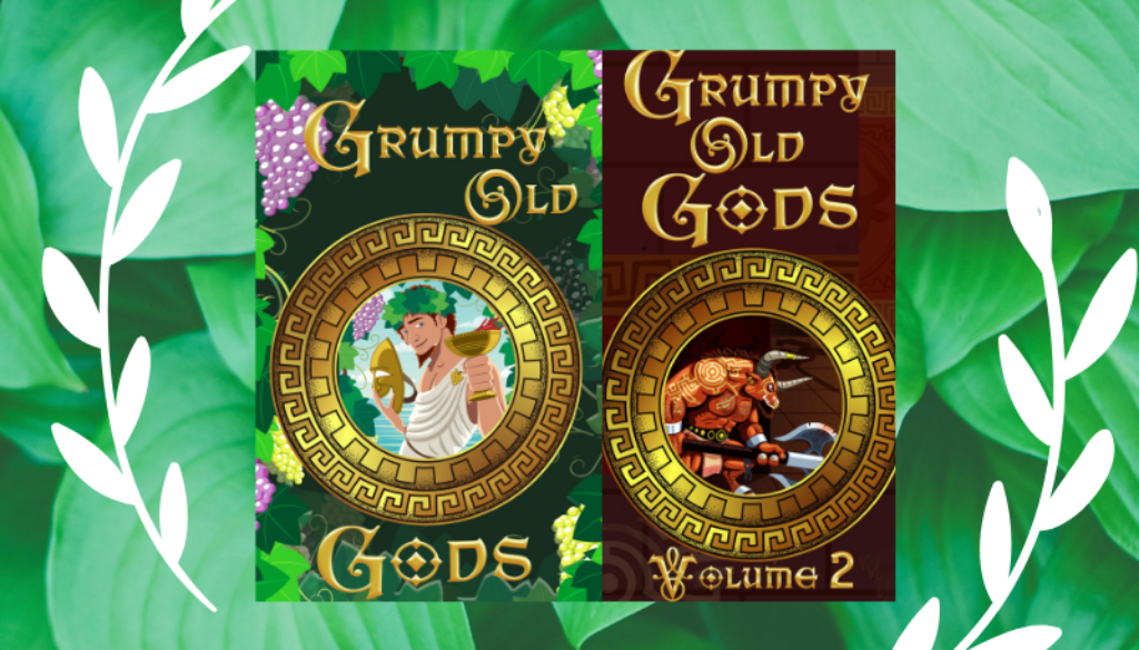 GOG Vol. 1 Meet The Authors Elizabeth Shaffer #grumpyoldgods #anthology #mythology