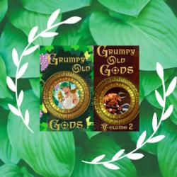 GOG Vol. 1 Meet The Authors Elizabeth Shaffer #grumpyoldgods #anthology #mythology