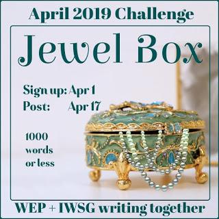 IWSG April 3, 2019