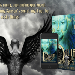 Author Fiona Tarr Delilah and the Dark God