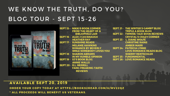 We Know the Truth Do You? Area 51 Anthology Release Tour