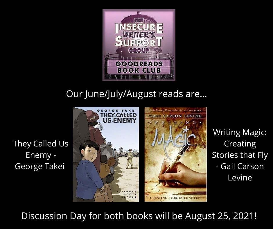 #IWSG Insecure Writer's Support Group July 7th Blog Hop