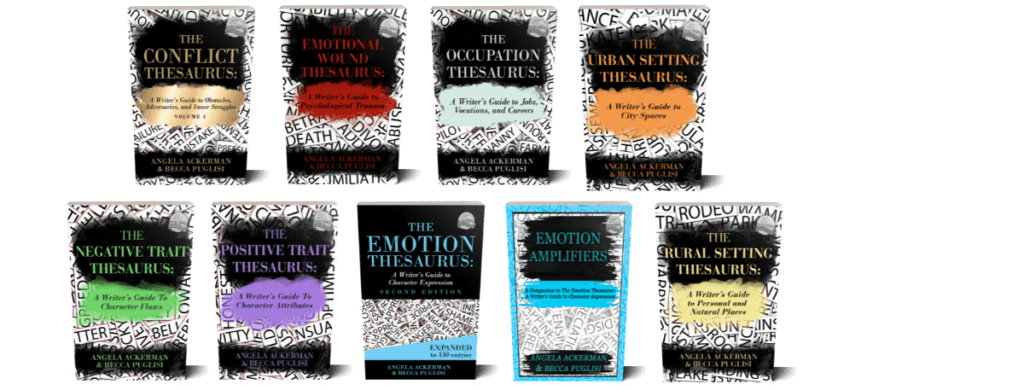 Heads up, Writers! The Conflict Thesaurus Is Here